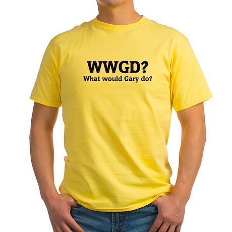 What would Gary do? Yellow T-Shirt