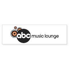 ABC Music Lounge Logo Bumper Sticker