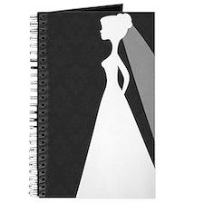 Black Damask Wedding Journal