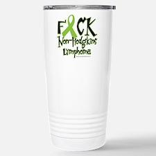 Fuck Non-Hodgkins Lymphoma Travel Mug