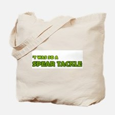 Irish Rugby Spear Tackle Humor Tote Bag