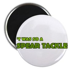 Irish Rugby Spear Tackle Humor Magnet