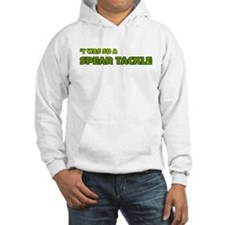 Irish Rugby Spear Tackle Humor Jumper Hoody