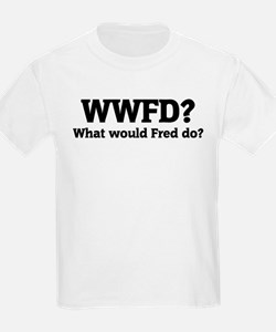 What would Fred do? Kids T-Shirt
