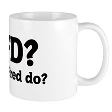 What would Fred do? Mug