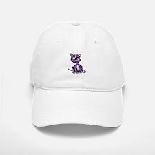 Purple Zombie Cat Baseball Baseball Cap