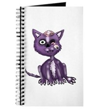 Purple Zombie Cat Journal