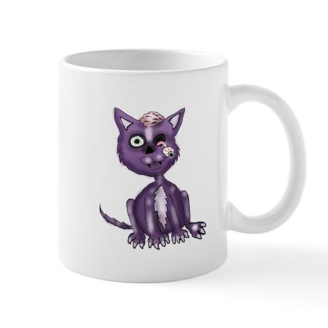 Purple Zombie Cat Mug