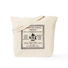Steampunk Travel Tote Bag