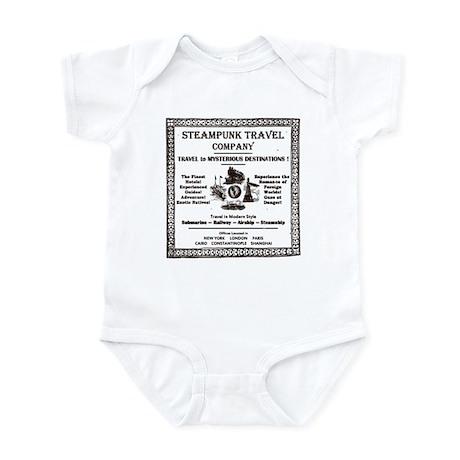 Steampunk Travel Infant Bodysuit