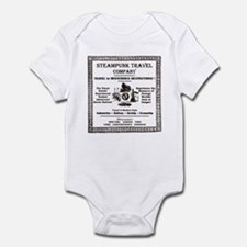 Steampunk Travel Infant Bodysuit