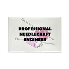 Professional Needlecraft Engi Rectangle Magnet