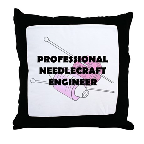 Professional Needlecraft Engi Throw Pillow