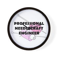 Professional Needlecraft Engi Wall Clock