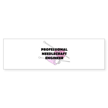 Professional Needlecraft Engi Sticker (Bumper)