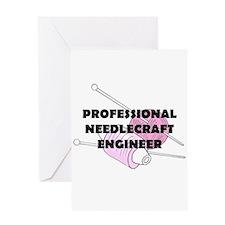 Professional Needlecraft Engi Greeting Card