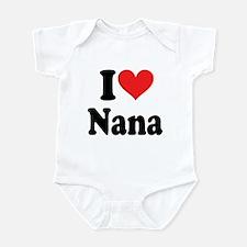 I Heart Nana: Infant Bodysuit
