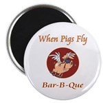 """When Pigs Fly! 2.25"""" Magnet (10 pack)"""