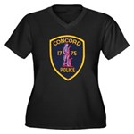 Concord Massachusetts Police Women's Plus Size V-N
