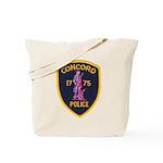 Concord Massachusetts Police Tote Bag