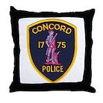 Concord Massachusetts Police Throw Pillow