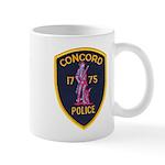 Concord Massachusetts Police Mug