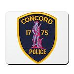Concord Massachusetts Police Mousepad