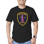 Concord Massachusetts Police Men's Fitted T-Shirt