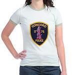 Concord Massachusetts Police Jr. Ringer T-Shirt
