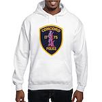 Concord Massachusetts Police Hooded Sweatshirt