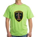 Concord Massachusetts Police Green T-Shirt