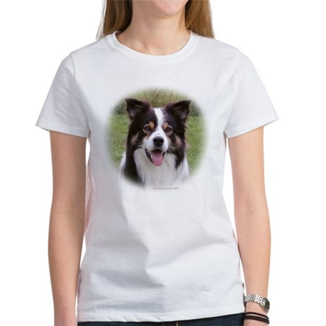 Tricolur Border Collie Women's T-shirt