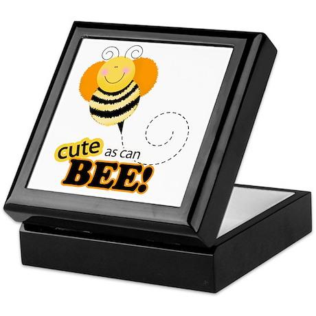 Cute as can Bee Keepsake Box