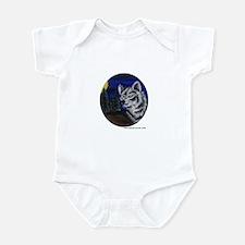 Cute Grey wolf Infant Bodysuit