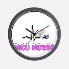 MORE NICU Nurse Wall Clock
