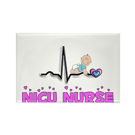 MORE NICU Nurse Rectangle Magnet (100 pack)