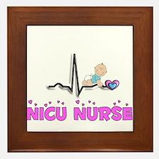 MORE NICU Nurse Framed Tile