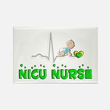 MORE NICU Nurse Rectangle Magnet