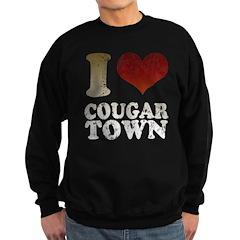 I heart Cougar Town Sweatshirt