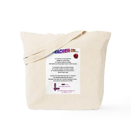 A Teacher Is Tote Bag