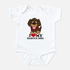 I love my Rescue Dog Infant Bodysuit