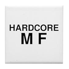 Hardcore MF Tile Coaster