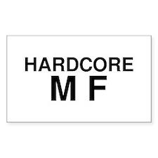 Hardcore MF Decal