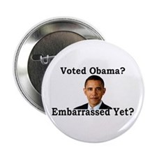 """Embarrassed Yet? 2.25"""" Button"""