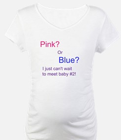 Shirt- Pink? Or Blue? Baby #2.