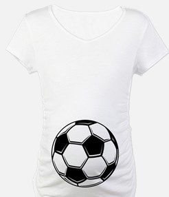 Maternity Soccer Ball Shirt