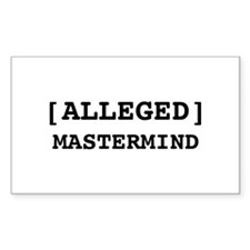 Alleged Mastermind Decal