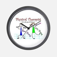 Physical Therapists II Wall Clock