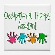 Physical Therapists II Tile Coaster