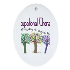 Physical Therapists II Ornament (Oval)